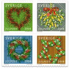 Årets julfrimärken 2008
